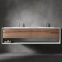 45 Degree Up Series 1800 Vanity and Sink