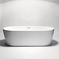 Coco Freestanding Small Acrylic Bathtub