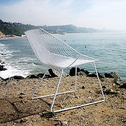 Bunny Lounge Chair (White) - OPEN BOX RETURN