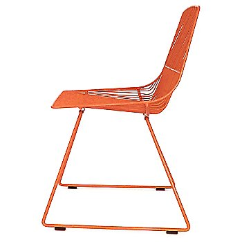 Orange finish / side view
