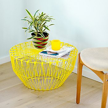 Yellow finish / in use