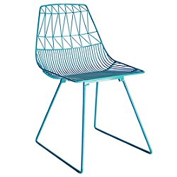 Lucy Chair (Peacock Blue) - OPEN BOX RETURN