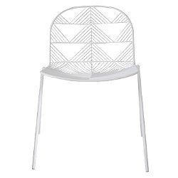 Betty Stacking Chair (White) - OPEN BOX RETURN