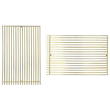 Gold finish / Straight shape