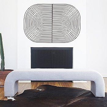 Black finish / Round shape / in use