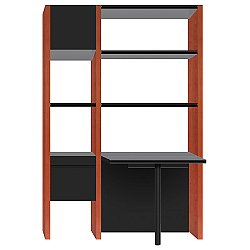Semblance 2-Section with Peninsula Desk, 5412-PB, Office System