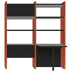 Semblance 2-System with Peninsula Desk, 5412-PR, Office System