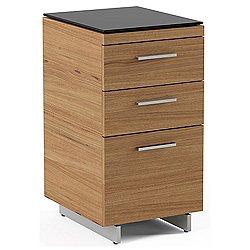 Sequel 3-Drawer Cabinet 6014 (Natural Walnut) - OPEN BOX RETURN