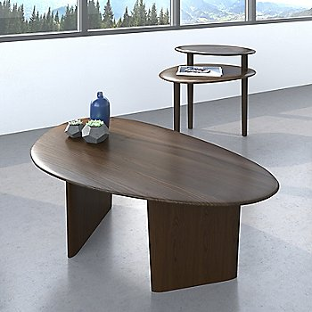 Orlo End Table with Orlo Coffee Table, in use