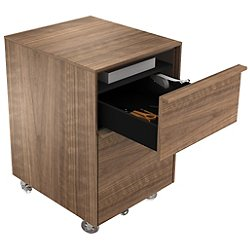 Cascadia 2-Drawer Mobile File Cabinet