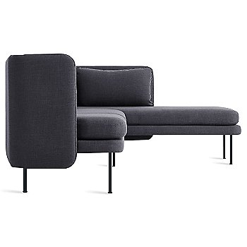 Rostenkowski Blue color / Chaise on Left Position