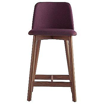 Shown in Purple, Walnut finish