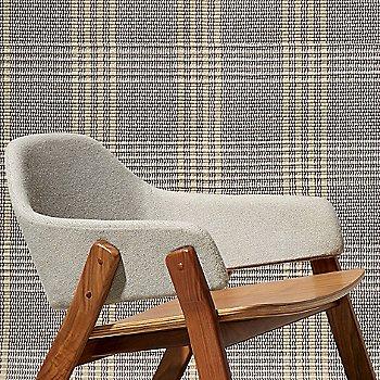 Edwards Light Grey/Walnut / Detail view
