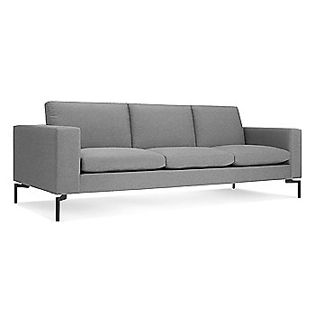 Shown in Spitzer Grey, Black leg finish, Large size