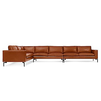 Shown in Toffee Leather, Large Left Configuration
