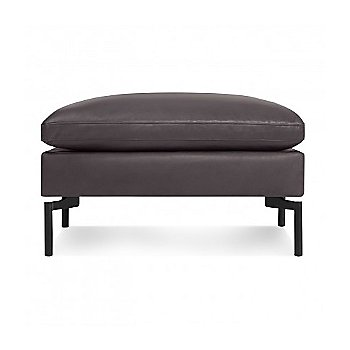 New Standard Leather Ottoman