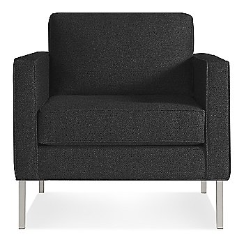 Libby Charcoal with Stainless Steel Legs