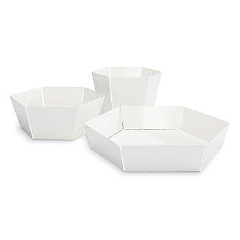 2D:3D Bowl Family, White