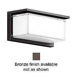 Impact Resistant LED Ceiling and Wall Light - 33482 (Bronze) - OPEN BOX RETURN