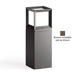LED Garden and Pathway Bollard - B77330 (Bronze) - OPEN BOX RETURN