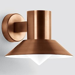 BOOM Collection Copper LED Outdoor Wall Light - 1058/1060