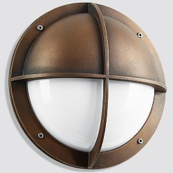 BOOM Collection Bronze LED Outdoor Wall Light - 1182/1183