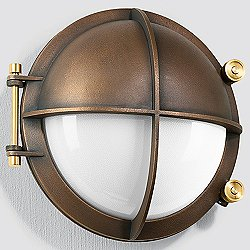 BOOM Collection Bronze LED Outdoor Wall Light - 31120/31148