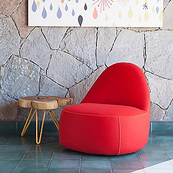 Focus: Crimson color / in use