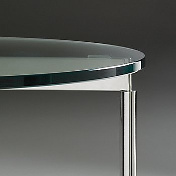 Chorme finish / Clear glass / Detail view