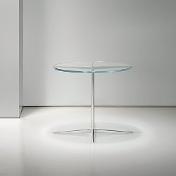 Facet Small Round Occasional Table