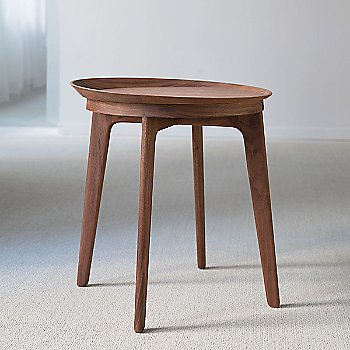 Walnut 841 finish / Small / 22.25 Inches Wide option / Rear view
