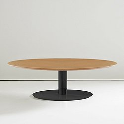 Quiet 36 inch Round Cocktail Table