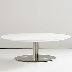 Quiet 42 inch Round Cocktail Table