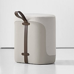 Tour Upholstered Stool