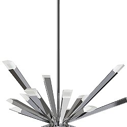 Optional Stem Section for Starburst LED Chandelier
