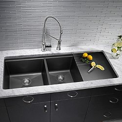 Precis MultiLevel 1.75 Bowl with Drainer Kitchen Sink
