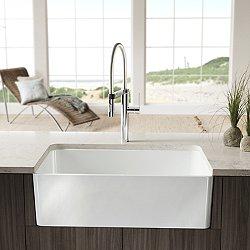 Cerana Apron Front 33 Inch Kitchen Sink