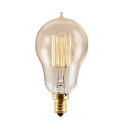 Nostalgic Edison A15 Vintage Thread Filaments Lamp