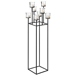Nero Freestanding Chandelier Tealight Holder