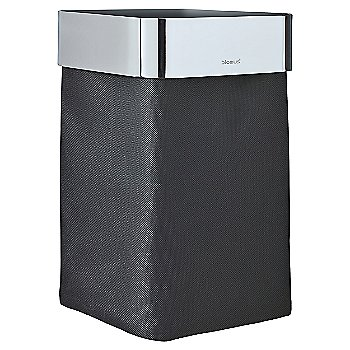 Shown in Black with Polished Stainless Steel Finish