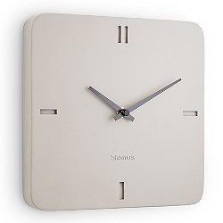 Epoca Concrete Square Wall Clock