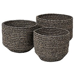 Cobra Round Basket, Set of 3