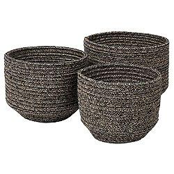 Cobra Round Basket, Set of 3