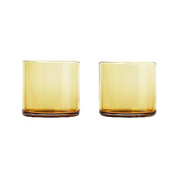 Gold Glass color / Low Ball size
