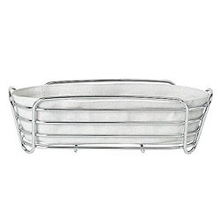 DELARA Long Serving Basket (Moonbeam) - OPEN BOX RETURN