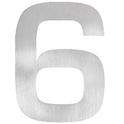 Signo House Number (Number 6) - OPEN BOX RETURN