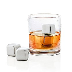 Lounge 4 Pc. Stainless Steel Ice Cubes