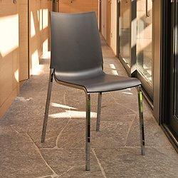Eva Stacking Chair, Set of 2