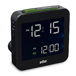 Braun Digital Travel Alarm Clock BN-C009