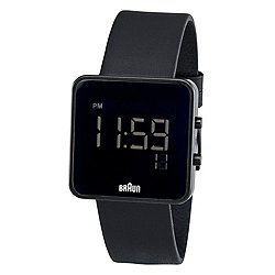 Braun Men's Square Digital Watch BN-46BKBKG